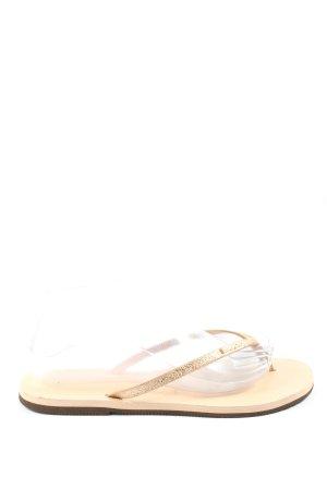 Havaianas Flip-Flop Sandals cream casual look