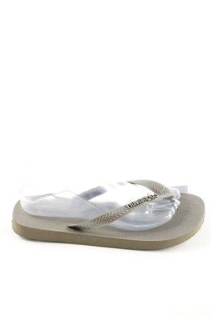 Havaianas Flip flop sandalen lichtgrijs casual uitstraling