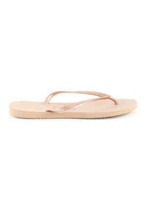 Havaianas Flip Flop Sandalen nude Casual-Look
