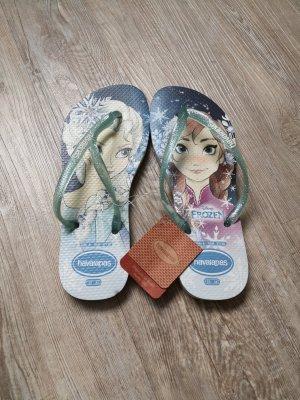 Havaianas Flip-Flop Sandals white-azure