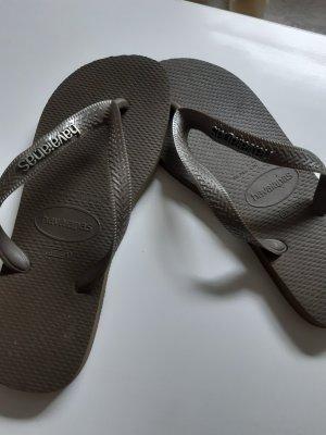 Havaianas Flip Flops in khaki, Größe 37-38