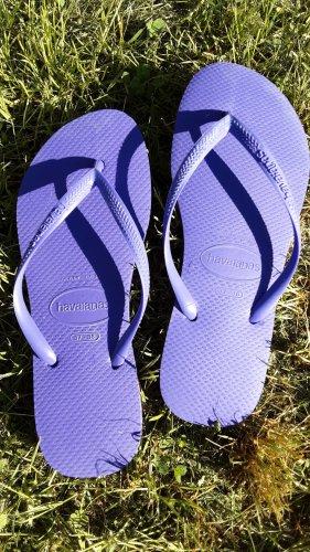 Havaianas Sandalias con talón descubierto lila