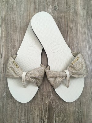 Havaianas Flip-Flop Sandals oatmeal-beige