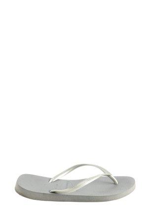 Havaianas Sandalo toe-post argento-grigio chiaro stile casual