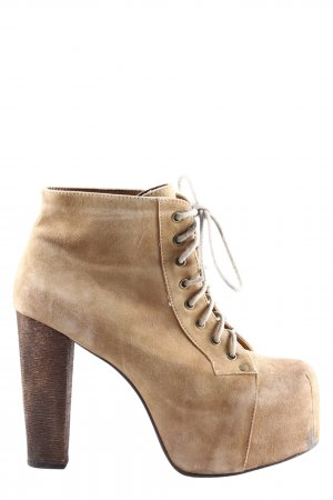 Havana Last Ankle Boots creme-braun Casual-Look