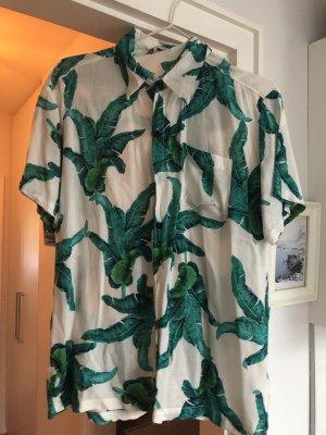 Camicia hawaiana multicolore