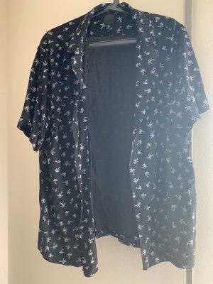 H&M Chemise hawaïenne noir