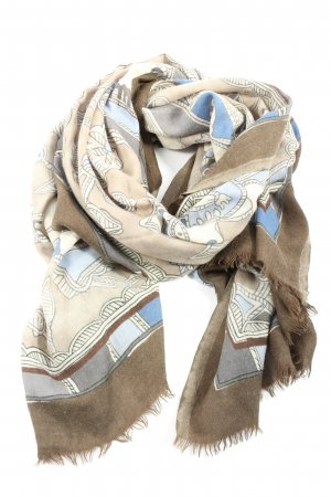 Hawico Shoulder Scarf abstract pattern casual look