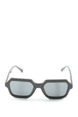 Hawkers Occhiale da sole spigoloso nero stile casual