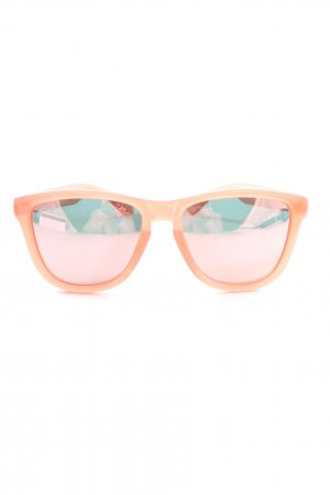 Hawkers eckige Sonnenbrille nude Casual-Look