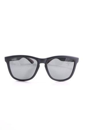 Hawkers Kwadratowe okulary przeciwsłoneczne czarny W stylu casual