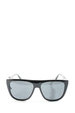Hawkers Ronde zonnebril zwart casual uitstraling