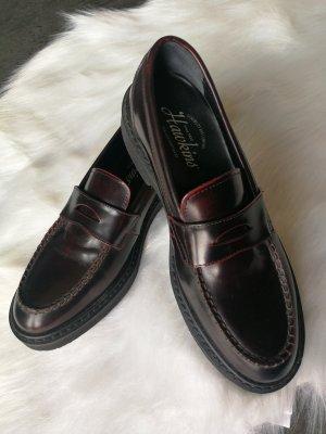Hawkins Zapatos estilo Oxford burdeos