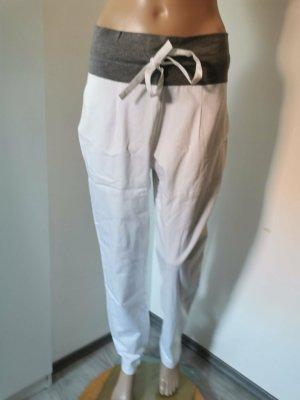 Hayward Jersey Pants white-light grey cotton