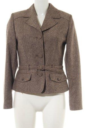 Hayward Blazer de lana marrón moteado estilo «business»