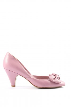 haze High-Front Pumps pink elegant