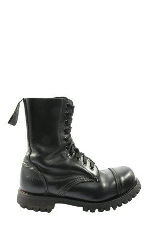 HD Combat Boots black casual look