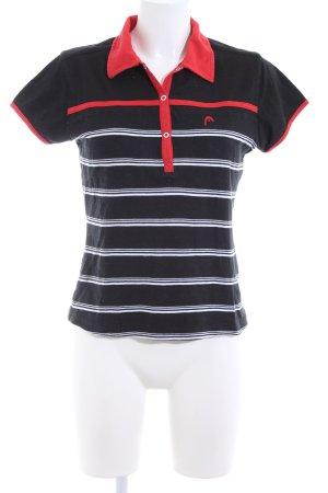 Head Polo-Shirt Streifenmuster Casual-Look