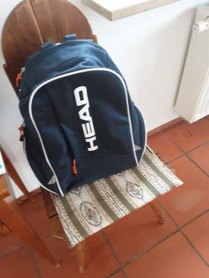 head, Sportrucksack, Schwarz mit weißer  Schrift