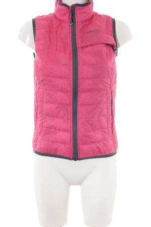 Head Steppweste pink-hellgrau Steppmuster Casual-Look