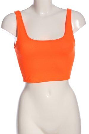 heart & hips Top recortado naranja claro look casual