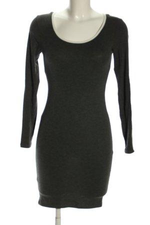 heart & hips Vestido con capucha negro look casual