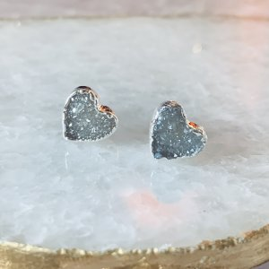 HEART LOVE COLLECTION Crystal stud earrings