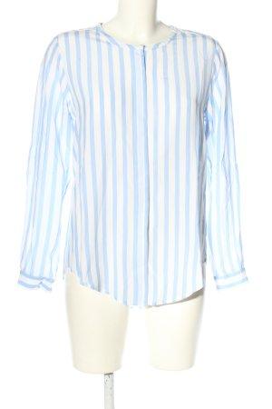 heart Oversized Bluse blau-weiß Streifenmuster Casual-Look