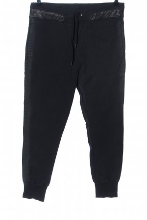 heart Pantalone fitness nero stile casual