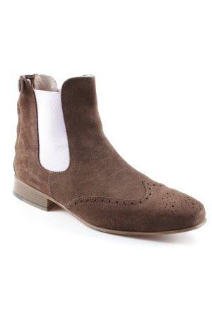"Heartbreaker Chelsea Boots ""Mogano"""