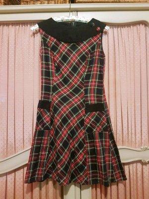 Heartbreaker Couture 60er Stil Karo Mini Kleid