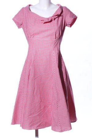 Heartbreaker Petticoat Dress white-red check pattern casual look