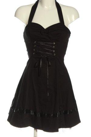 Hearts & Roses Mini Dress black elegant