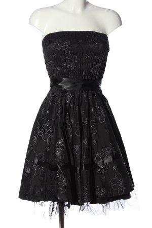 Hearts & Roses Minikleid schwarz Allover-Druck Elegant