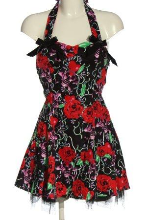 Hearts & Roses Halter Dress allover print elegant