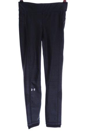 heatgear Sporthose schwarz-grau Punktemuster sportlicher Stil