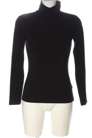 heattech Turtleneck Shirt black casual look
