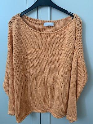 Stefanel Pullover a maglia grossa arancione scuro-arancione