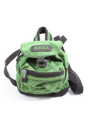 Hedgren Kindergarden Backpack green-black casual look