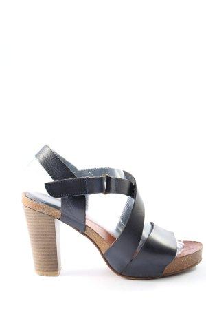 hee High Heel Sandaletten blau Casual-Look