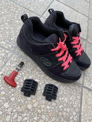 Skater Shoes black-pink