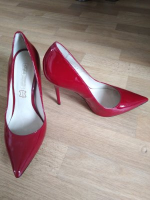 Buffalo High Heels dark red