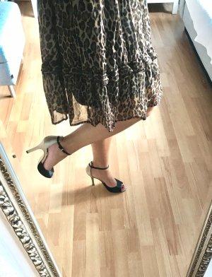Heels Sandaletten Essence Menbur Beige Schwarz