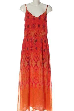 Heidi klein Maxi abito rosso-arancione chiaro Colore sfumato stile casual