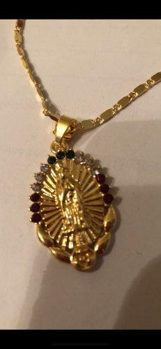 Heilige Maria Halskette neu