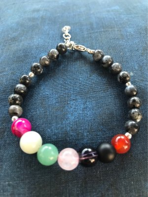 HANDMADE BY GERMANY Pearl Bracelet multicolored