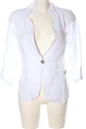 Heimatliebe Chaqueta tipo blusa blanco look casual