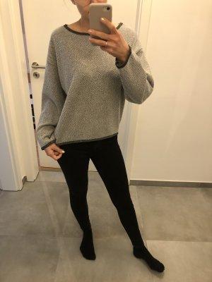 Heimatliebe grau Pullover grau Silber Fashion Mode s 34 36