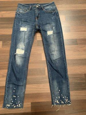 Heimatliebe Tube jeans veelkleurig
