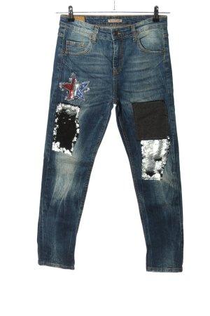 Heimatliebe Slim Jeans blau Casual-Look